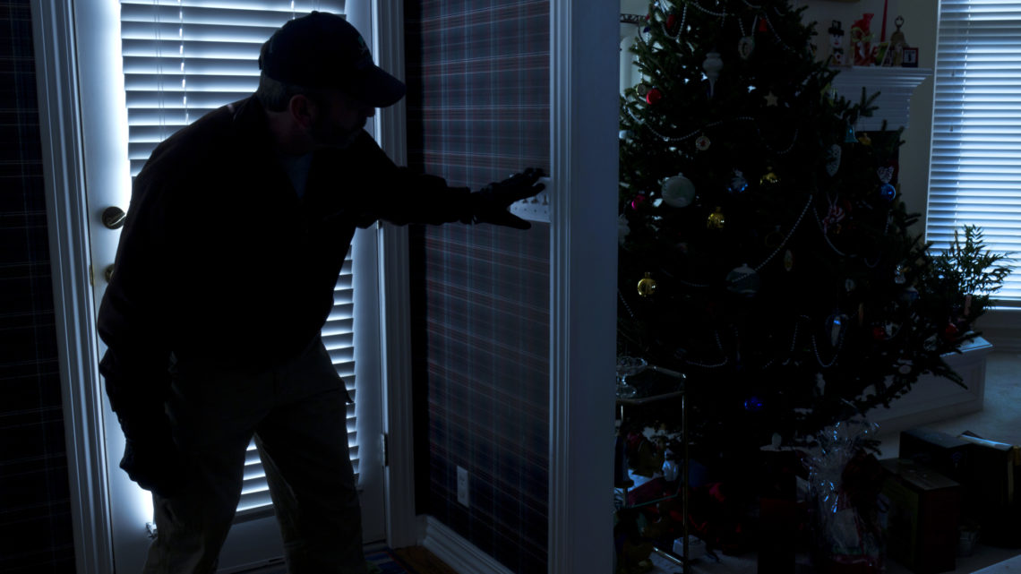 Don't allow Thieves just walk in your Home this Christmas!