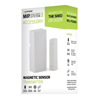 Accessory - Magnetic Door Sensor Transmitter