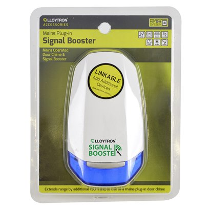 B7890 Accessory - 150m Signal Booster & Plug-in Door Chime
